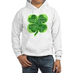 Giant Shamrock Happy Birthday Hooded Sweatshirt