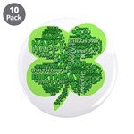 Giant Shamrock Happy Birthday 3.5