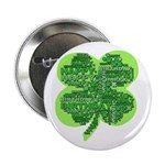 Giant Shamrock Happy Birthday 2.25