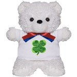 Giant Shamrock Happy Birthday Teddy Bear