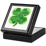 Giant Shamrock Happy Birthday Keepsake Box