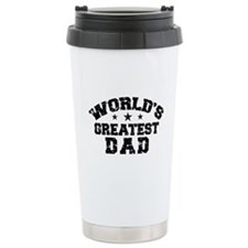 World's Greatest Dad Ceramic Travel Mug