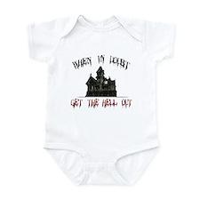 Ghosts Infant Bodysuit
