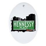 Hennesy Pl, Bronx, NYC Ornament (Oval)