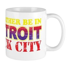 I'd Rather be in Detroit Rock Mug