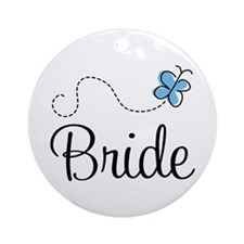 Blue BRIDE Ornament (Round)