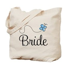 Blue BRIDE Tote Bag