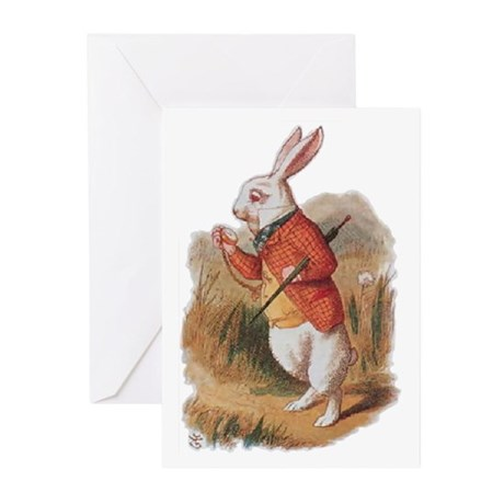 I'm Late! Greeting Cards (Pk of 20)