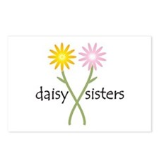 Daisy Sisters Postcards (Package of 8)
