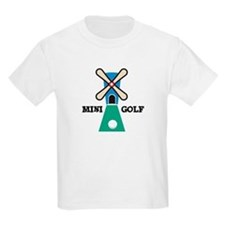 Mini Golf Kids T-Shirt