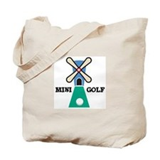 Mini Golf Tote Bag