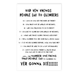 People Say To Climbers Postcards (Package of 8)