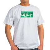 Golf Balls Sign  Ash Grey T-Shirt