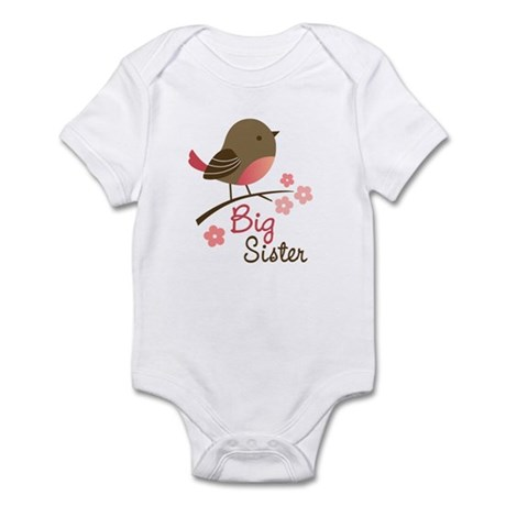 Big Sister - Mod Bird Infant Bodysuit