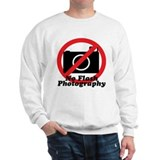 No Flash Photography Sweatshirt