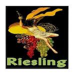 Riesling Wine Tile Coaster