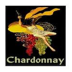Chardonnay Wine Tile Coaster