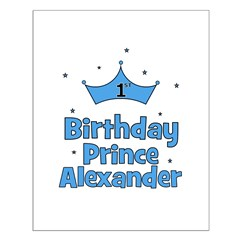 1st Birthday Prince ALEXANDER Small Poster