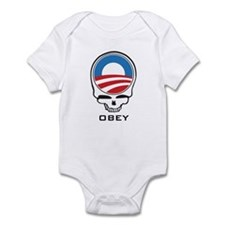 Obey Obama Skull Infant Bodysuit