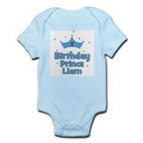 1st Birthday Prince LIAM! Infant Bodysuit