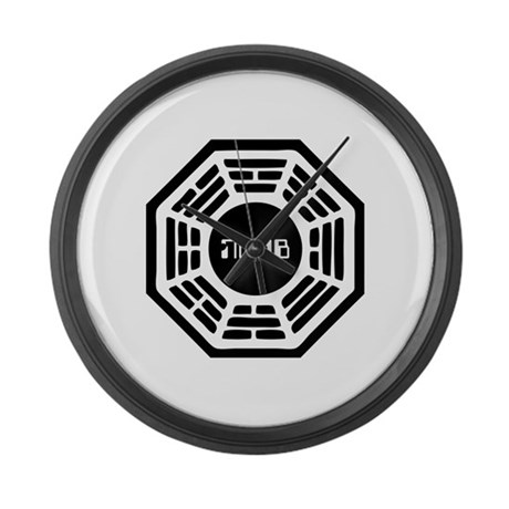 Dharma Noob Large Wall Clock