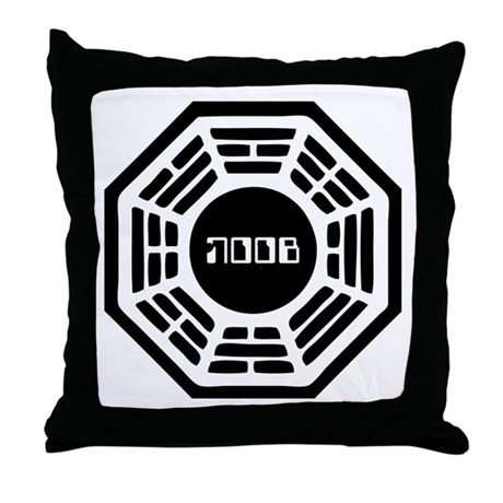 Dharma Noob Throw Pillow