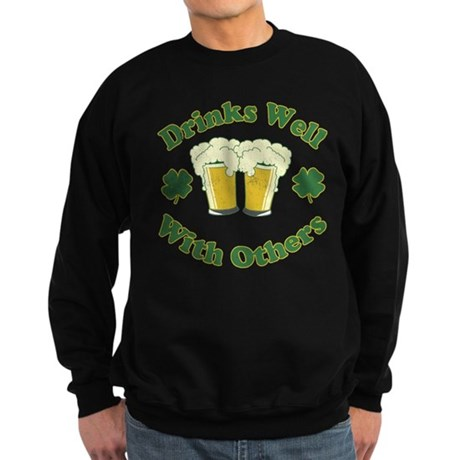 Drinks Well With Others Dark Sweatshirt