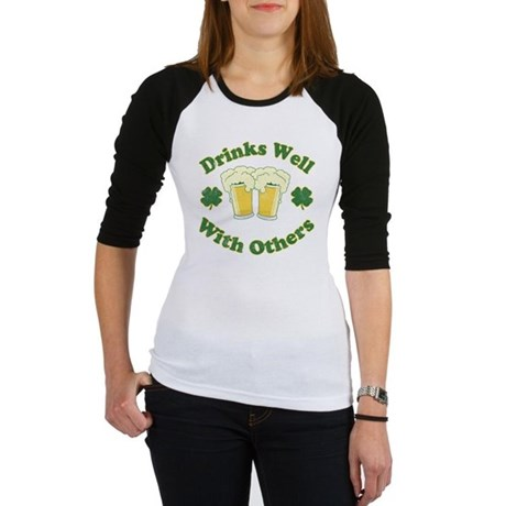 Drinks Well With Others Jr Raglan