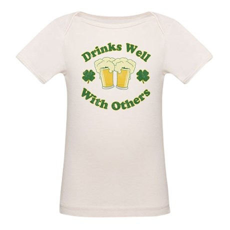 Drinks Well With Others Organic Baby T-Shirt