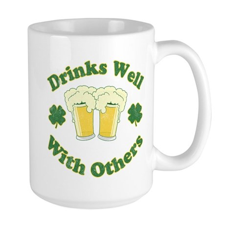 Drinks Well With Others Large Mug