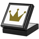Crown Keepsake Box