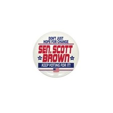 Scott Brown 2012 Hope Mini Button (10 pack)