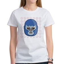 lucha libre blue demon Tee