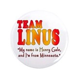 "TEAM LINUS with Ben Linus Quote 3.5"" Button"