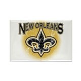 New Orleans Team Rectangle Magnet
