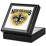 New Orleans Team Keepsake Box