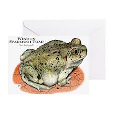 Western Spadefoot Toad Greeting Card