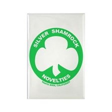 Silver Shamrock Novelties Rectangle Magnet