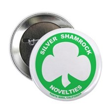 "Silver Shamrock Novelties 2.25"" Button"