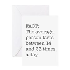 Fart Fact Greeting Card