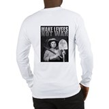 MAKE LEVEES NOT WAR Long Sleeve T-Shirt