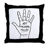 Not Penny's Throw Pillow