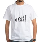 Evolution - Lost statue White T-Shirt