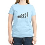 Evolution - Lost statue Women's Light T-Shirt