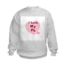 I Love My Pa Jumper Sweater