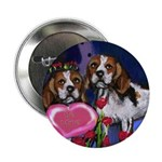 BEAGLE valentine Button