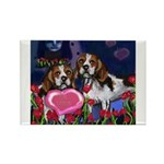 BEAGLE valentine Rectangle Magnet