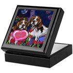BEAGLE valentine Keepsake Box