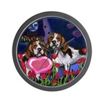 BEAGLE valentine Wall Clock