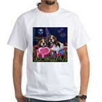 BEAGLE valentine White T-Shirt